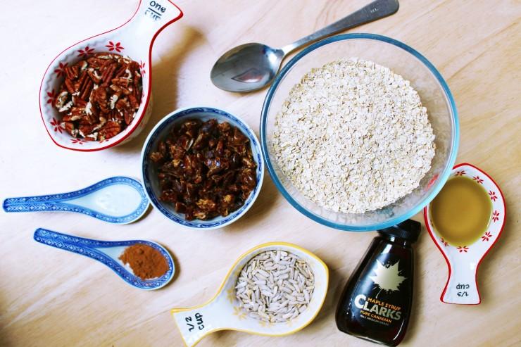 granola ingredients
