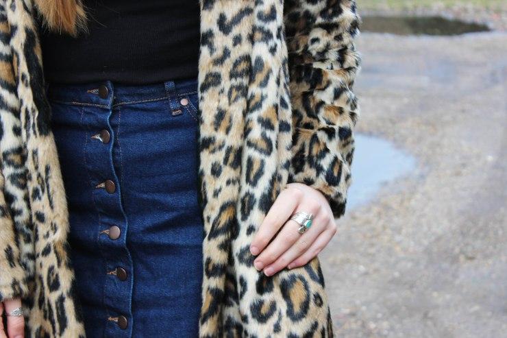 detail leopard