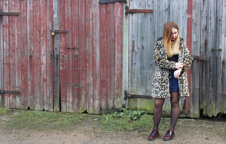 full length leopard